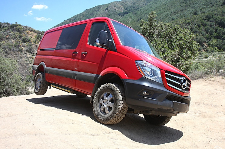 2015 Mercedes-Benz Sprinter 4x4