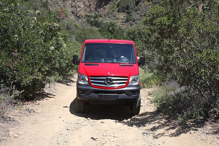 002 2016 Mercedes Benz Sprinter Crew Van 4x4