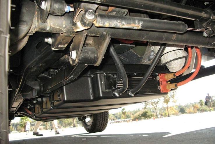 jeep Wrangler Ev battery
