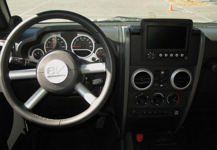 jeep Wrangler Ev dash View