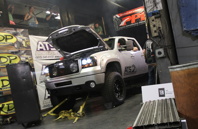 2015 Diesel Power Challenge Day 1: Dyno Day