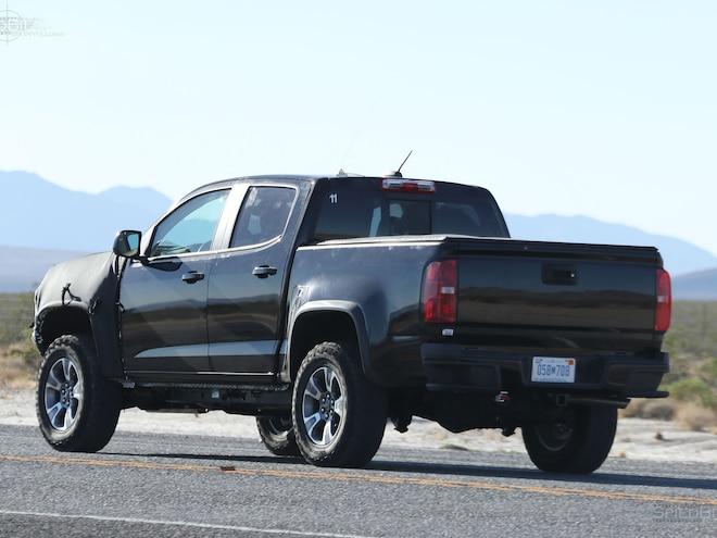 2017 Chevy Colorado Zr2 Rear Three Quarter