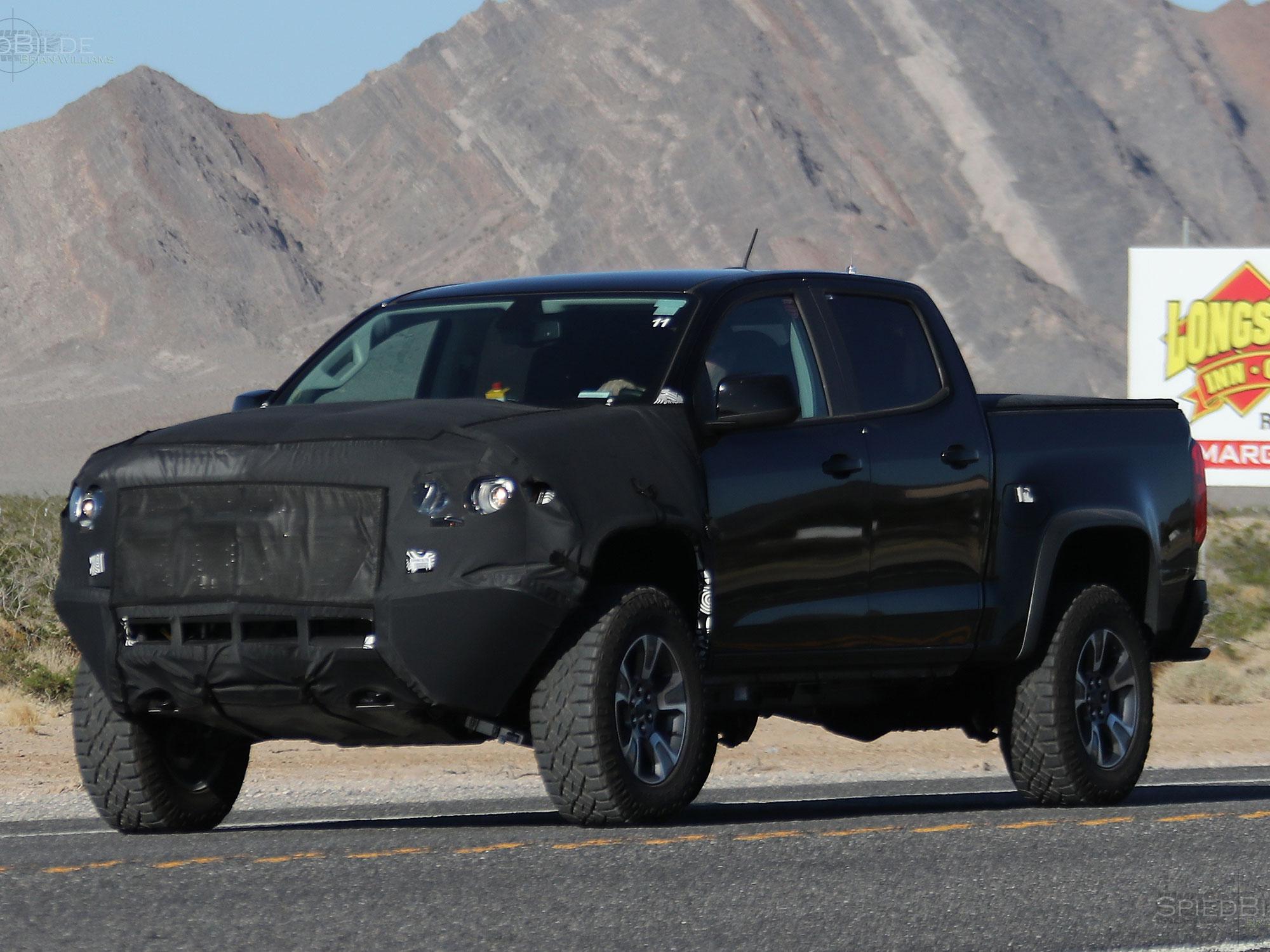 Spied: A Production-Spec 2013 Chevrolet Colorado Caught