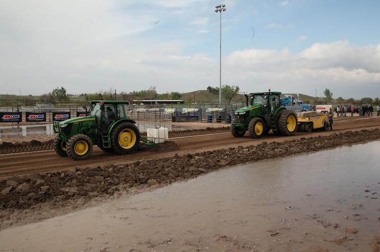Diesel Power Challenge Sled Pull John Deere Tractor Graders