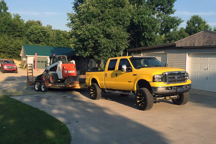 2006 Ford F250 Towing Bobcat Paul Evans
