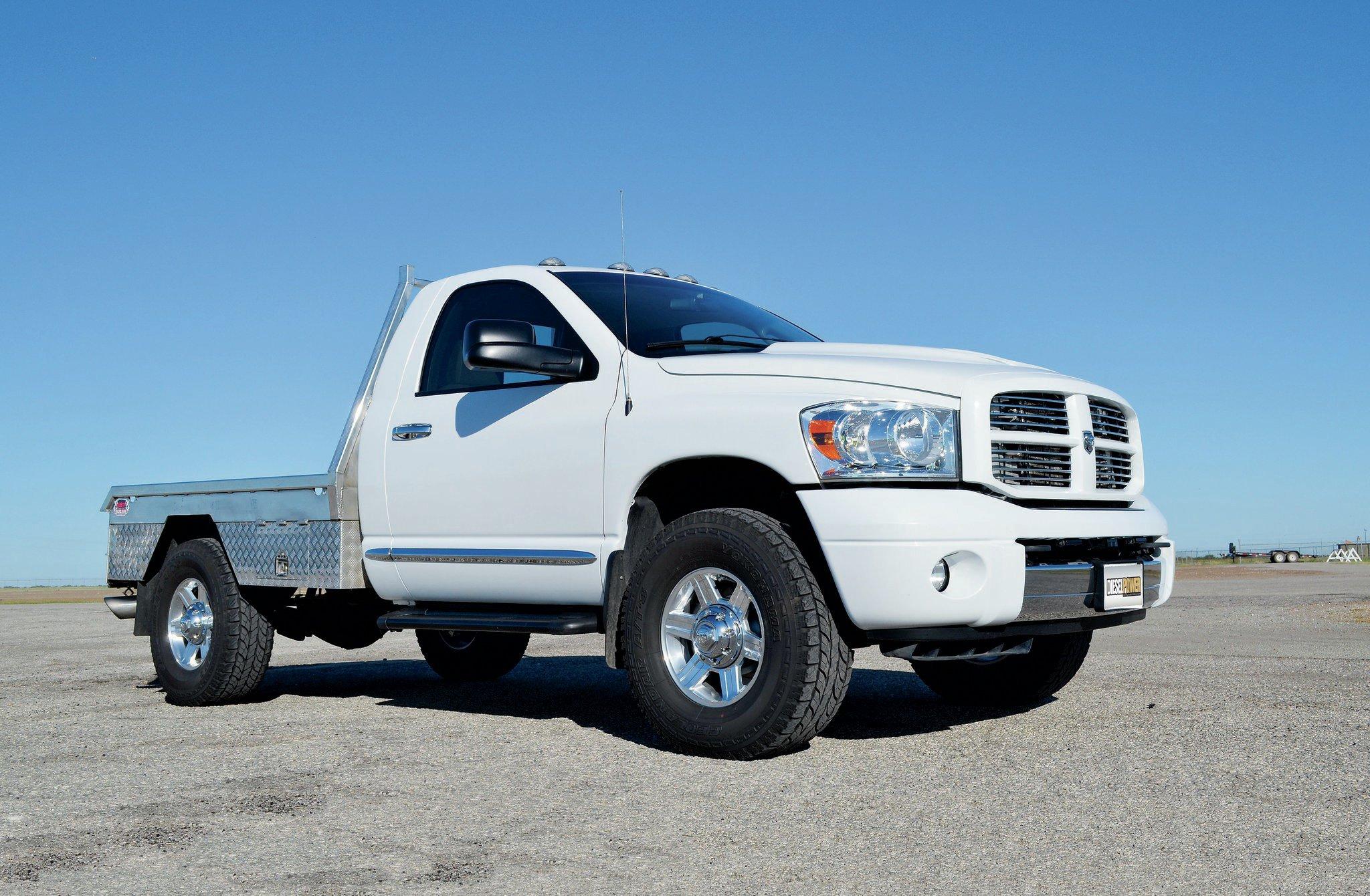 One Wicked 800 Hp 2007 Dodge Ram 2500 Work Truck