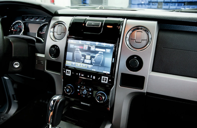 Alpine Installs Their Game Changer 9-inch AVN System in Our Ford F-150