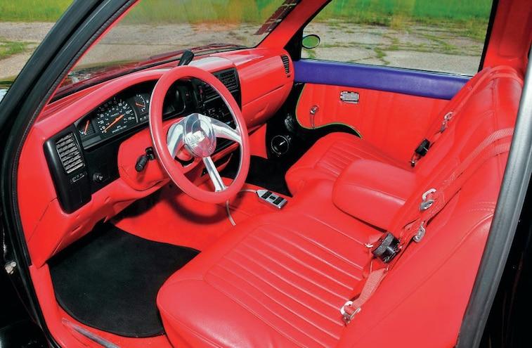 Bagged 1996 Toyota Tacoma Interior