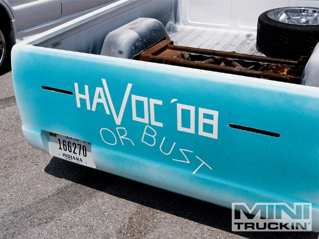 2008 Havoc Kentucky Truck Show havoc Bed