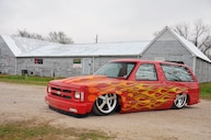 1989 Chevy S-10 Blazer is a Plan B-Lazer