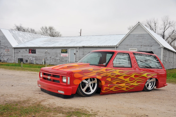 1989 Chevy S-10 Blazer is a Plan B-Lazer