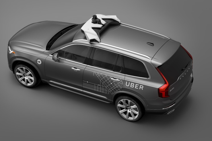 2017 Volvo Xc90 Uber From Above