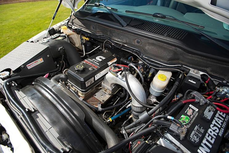 2006 Dodge Ram 3500 Dunks White Knight Engine 16B 5837