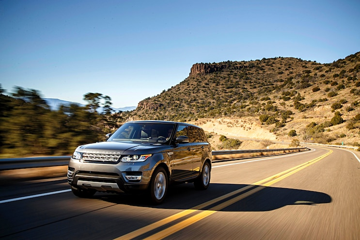 2016 Range Rover Sport Front Driver Side Motion