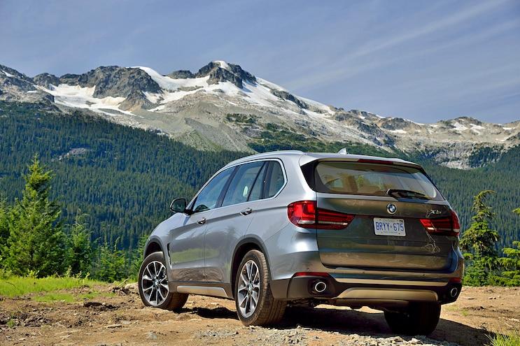 2016 BMW X5 Rear Driver Side Static
