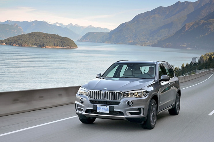 2016 BMW X5 Front Driver Side Motion