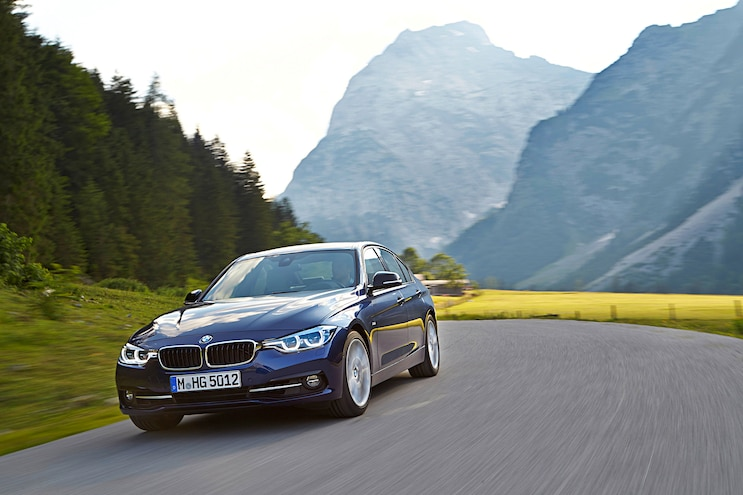 2016 BMW 3 Series Front Driver Side Motion 340i Pictured
