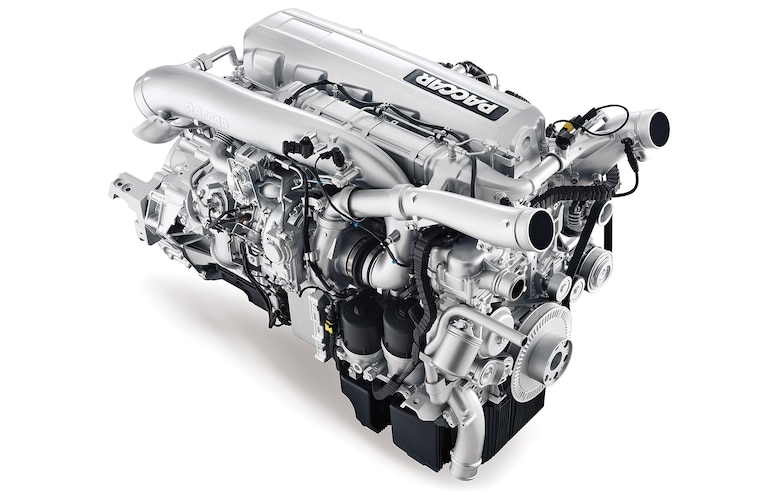 A Semi Truck Diesel Engine That Makes 500 hp and 1,850 lb-ft