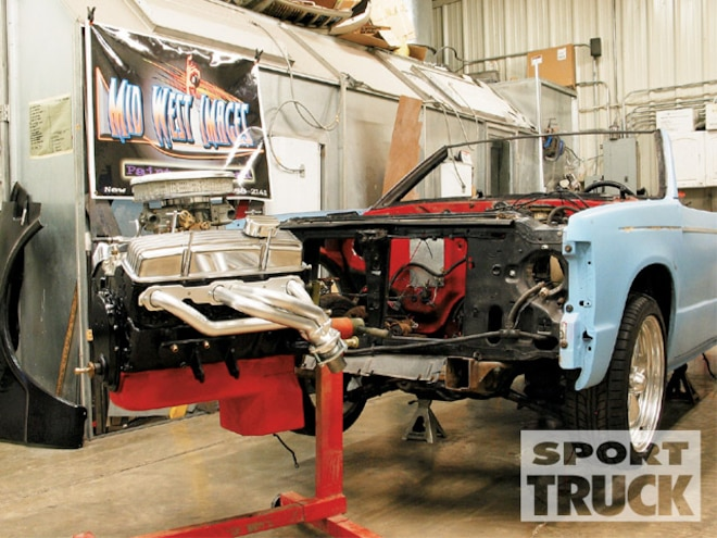 Chevy S10 V8 Engine Swap - Parts - Sport Truck Magazine