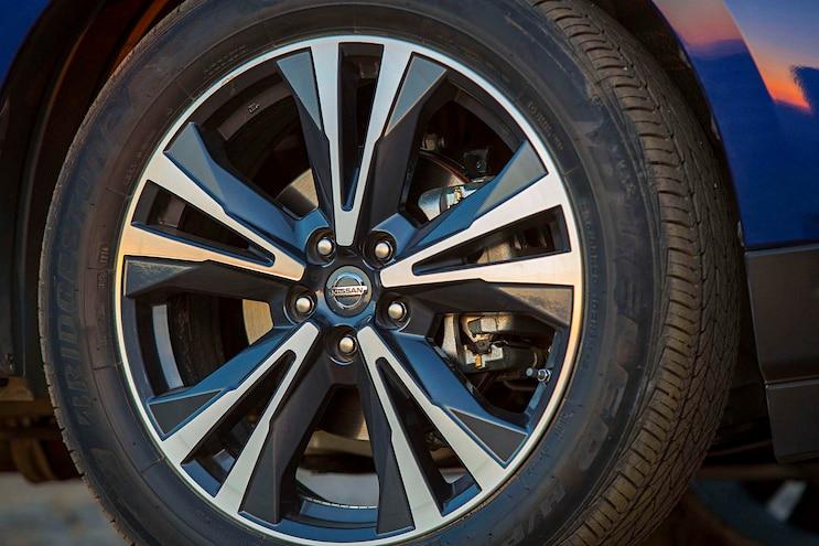 2017 Nissan Pathfinder First Drive Wheel