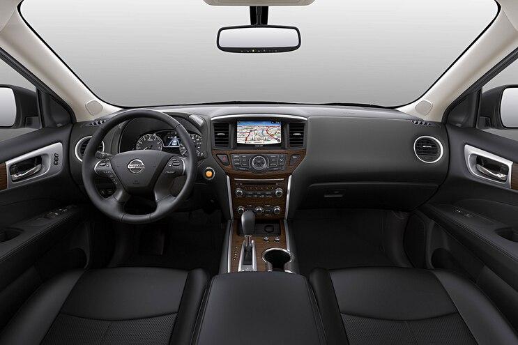 2017 Nissan Pathfinder First Drive Interior Black