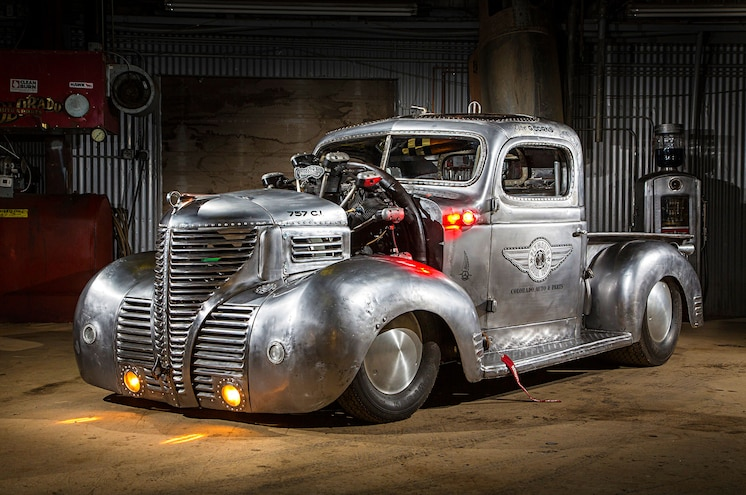 Video: Wild Seven-Cylinder Radial 1939 Plymouth Truck