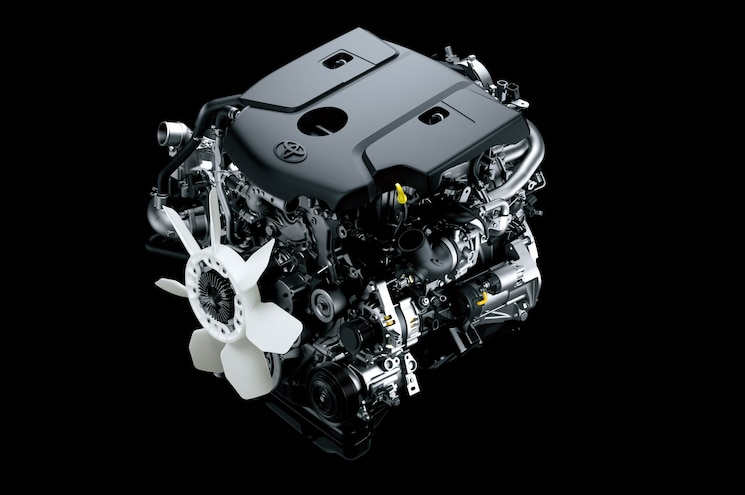 Toyota Hilux Eighth Generation 1GD Diesel Engine