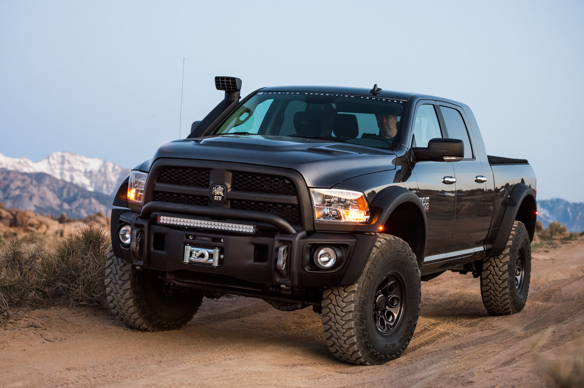 Aev Prospector Xl A Cummins Ram Power Wagon By Another Name
