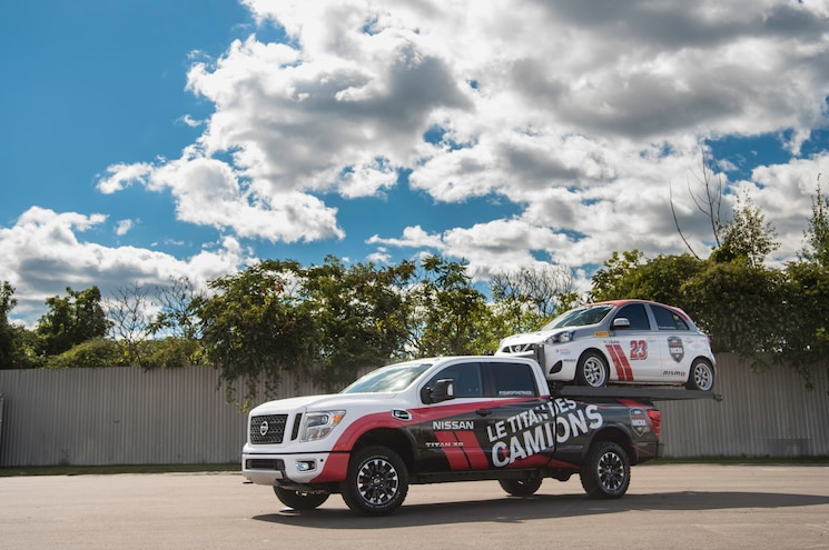 Nissan Canada Mixes Big and Little With Titan Hauler XD