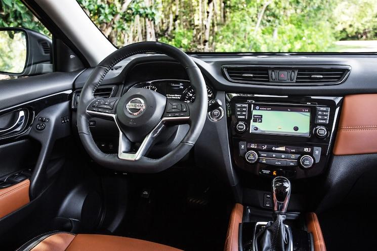 2017 Nissan Rogue Sl Interior Steering Wheel