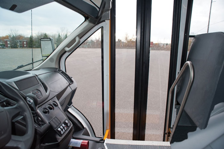 2015 Ford Transit Schoolbus More View Window