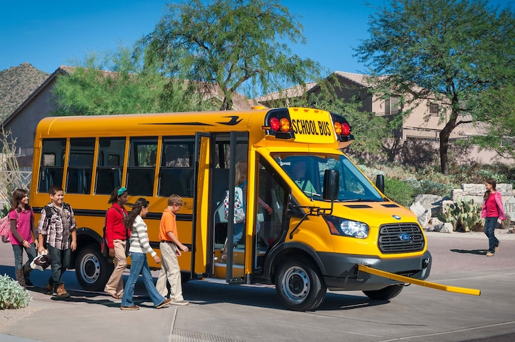 Ford Transit Schoolbus Makes the Short Bus Cool