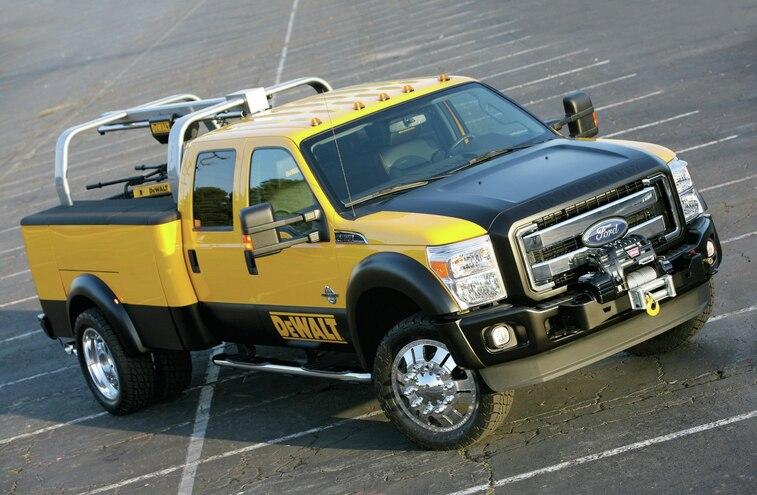 Ford Dewalt Truck