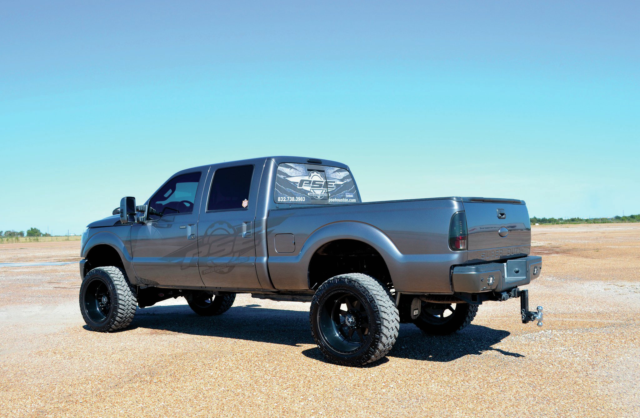 A 647 Hp 6 7l Power Stroke Powered 2012 Ford F 250 The Gray Ghost