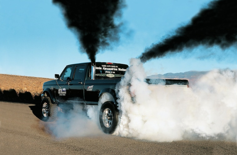 1995 Ford F 350 Burnout