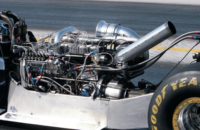 Scheid Diesel Dragster Engine