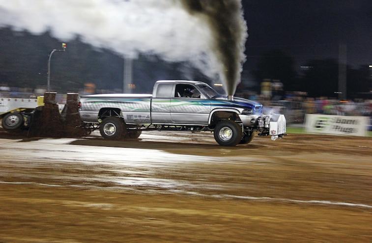 Shane Kellogs Sled Pulling Dodge Ram