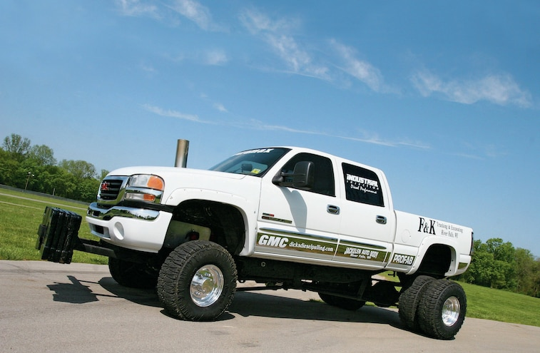 Gmc Sierra Sled Pulling Truck