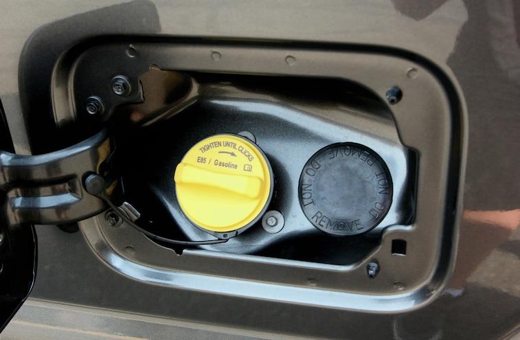 Yellow Fuel Cap