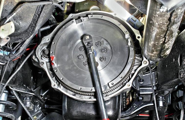 Flywheel Install