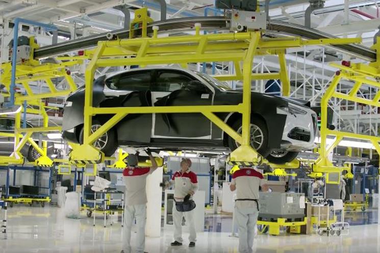 Alfa Romeo Stelvio SUV headed for Los Angeles Auto Show Debut