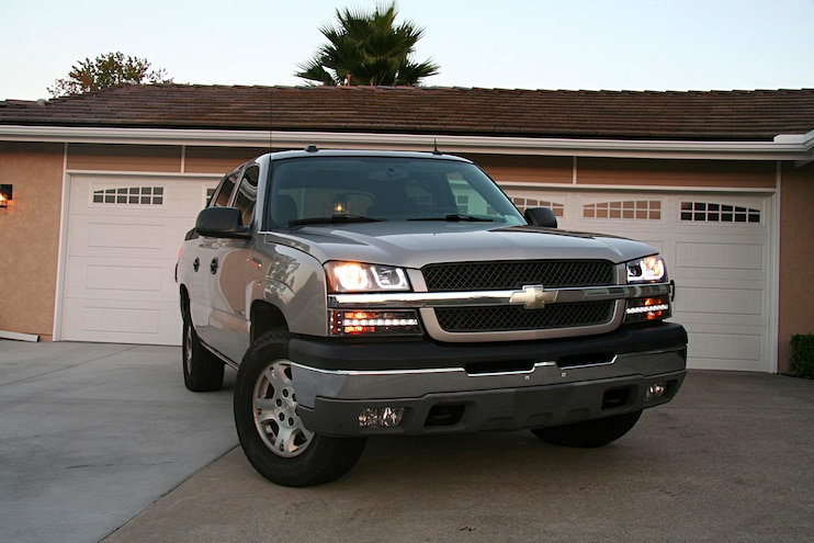 2004 Chevrolet Avalanche Anzo Light Upgrade Finished Product