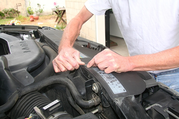 2004 Chevrolet Avalanche Anzo Light Upgrade Remove Radiator