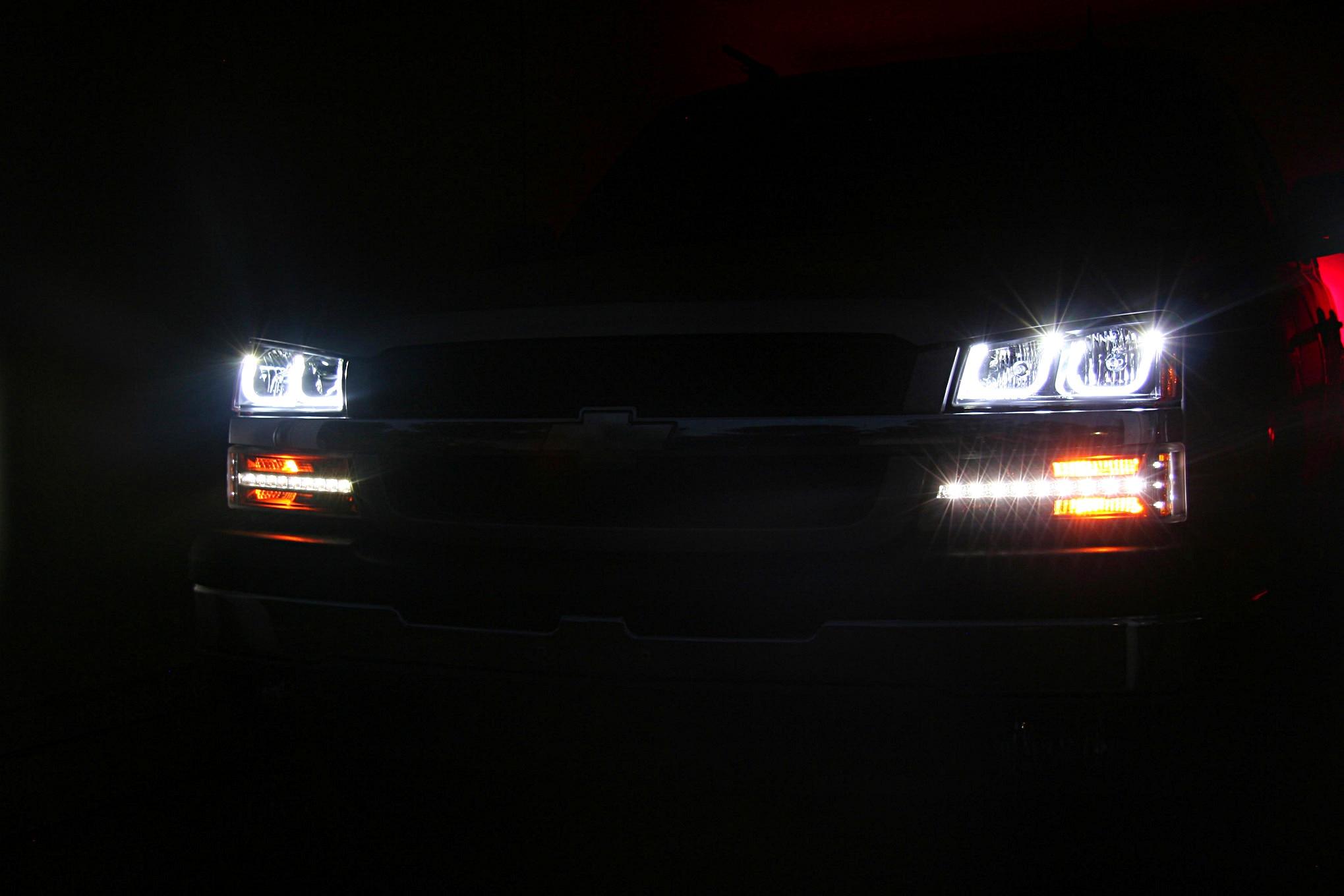 [DIAGRAM_0HG]  Anzo LED Light Install on '03-'06 Chevrolet Pickups | 03 Chevy 1500 Headlight Wiring |  | Truck Trend