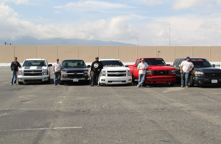 Truckin Throwdown 2015 Contestants Trucks
