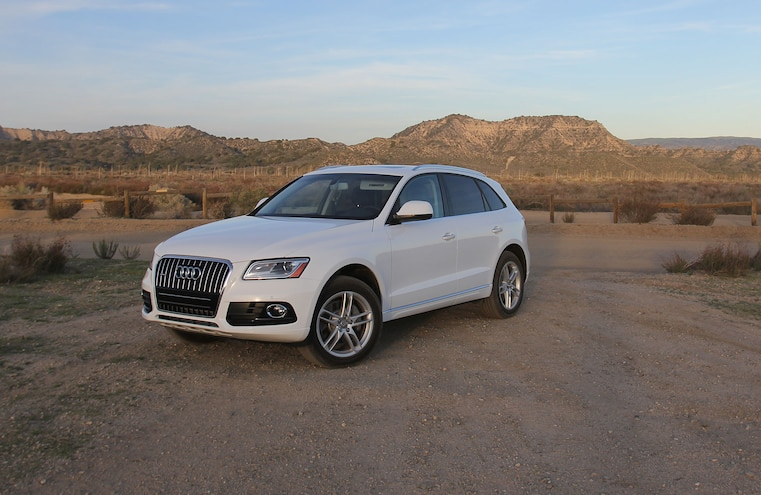 2015 Audi Q5 TDI Diesel Off Road Front Driver Side