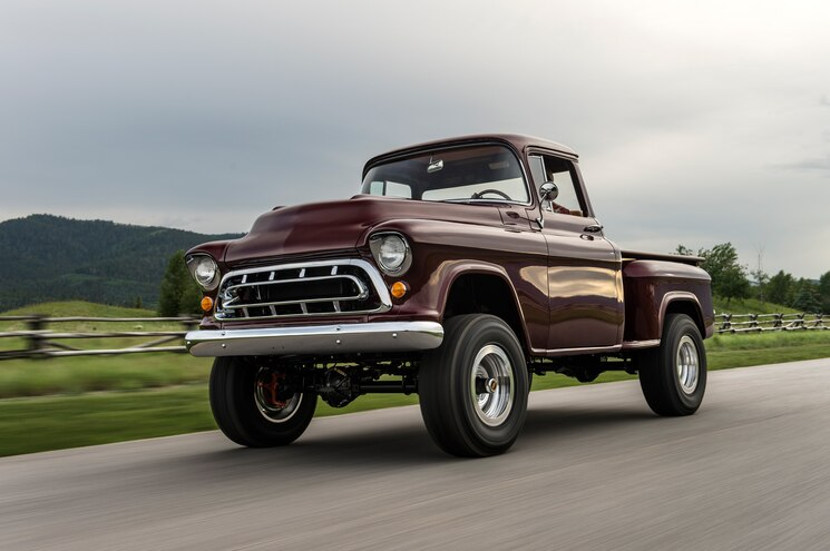 Split Personality: The Legacy Classic Trucks 1957 NAPCO Chevrolet