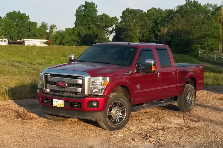 2014 Ford F 250 Front