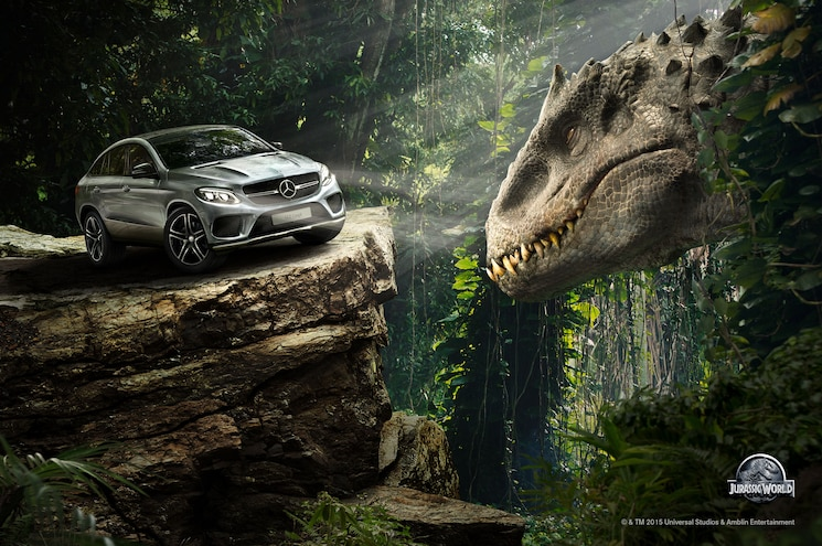 Mercedes-Benz Campaign Features Plenty of Jurassic World Cameos