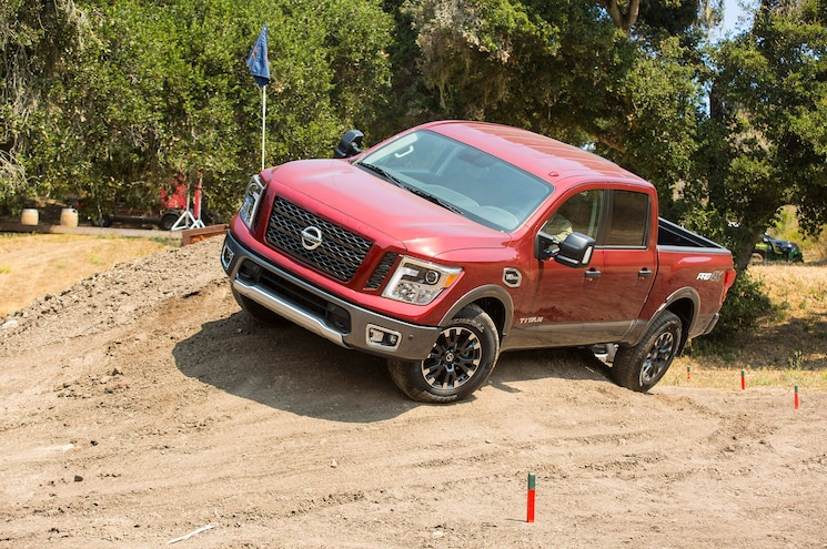 2017 Nissan Titan Half Ton First Drive Review On Dirt